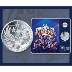 Во Франции отчеканят памятную монету, посвященную победе национальной сборной в Кубке мира по футболу