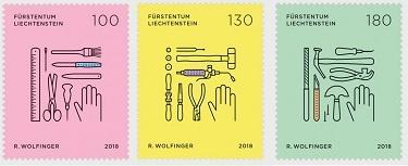 SEPAC представило новые марки серии «Торговля и Ремесла»