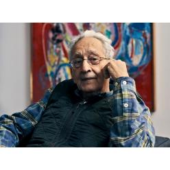 Известный американский абстракционист Фрэнк Стелла решил продать часть своей коллекции живописи