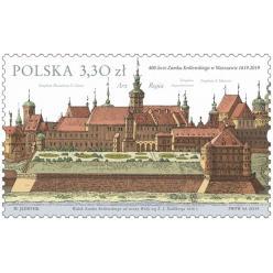 В Польше выпущена почтовая марка в честь 400-летия Королевского замка в Варшаве