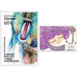Испания представила марки с дизайнами от аматоров
