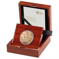 В Англии выпущены коллекционные монеты «Капитан Кук»