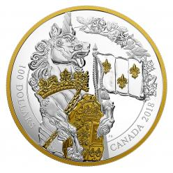 В Канаде выпущена первая монета серии «Хранители Парламента»