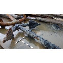 В Англии были найдены морские артефакты королевского флота