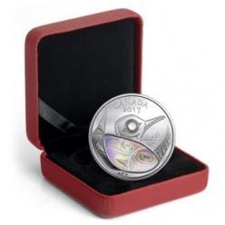 На монете Канады появилась голограмма