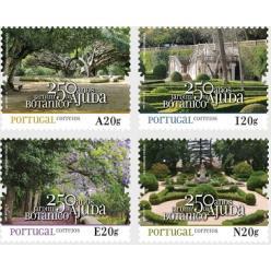 Португалия выпустила марки в честь годовщины основания первого ботанического сада страны