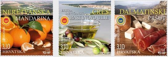 В Хорватии выпущены марки в честь национального сельского хозяйства