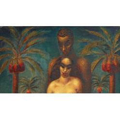 Полотно основоположника современного египетского искусства выставят на аукционе