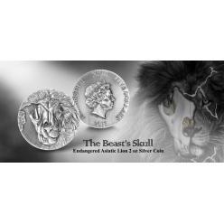 В Сингапуре представлена первая монета серии «Череп зверя»