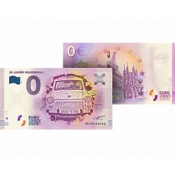 В Германии анонсирован выпуск банкноты номиналом 0 евро