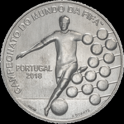 Португалия представила монету в честь Чемпионата мира по футболу 2018