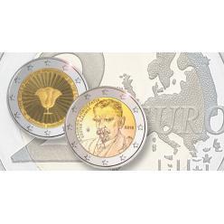  Греция анонсировала выпуск 2-евровых монет в честь архипелага Додеканес и поэта Костиса Паламаса