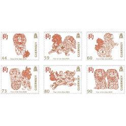 В честь года Собаки Guernsey Post выпустила набор марок
