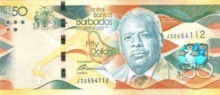 В Барбадосе обновлены банкноты двух номиналов