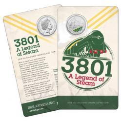 Австралия представила двенадцатигранную монету с изображением паровоза
