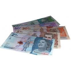 В Колумбии будет выпущена новая серия национальных банкнот