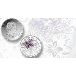 В Канаде запустили новую коллекцию монет с «драгоценными насекомыми»