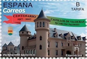 Марку в честь 400-летнего юбилея «Главной площади» страны выпустила Почта Испании