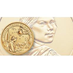 В США представили монету на космическую тему «Коренные американцы»