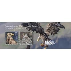 Исландия в рамках проекта EUROPA Stamps выпустила почтовые марки, которые издают звуки птиц