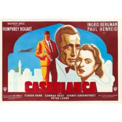 Плакат фильма «Касабланка» ушел с молотка на Heritage Auctions за $143 400