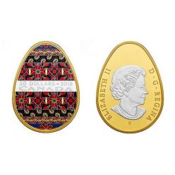 В Канаде выпустят в обращение монету-писанку