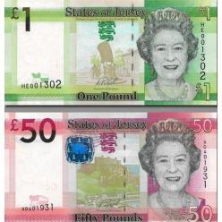 В Джерси обновлены две банкноты