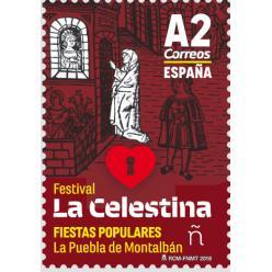 В Испании выпущена марка в честь фестиваля Ла Селестина