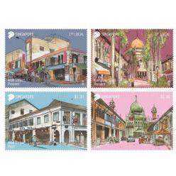В Сингапуре появились марки в честь достопримечательностей республики