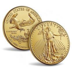 В США анонсировали выпуск золотой монеты «Американский орел 2018»