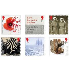 В Британии выпустят почтовые марки, посвященные Первой мировой