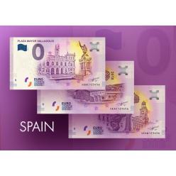 В Испании выпущены сувенирные банкноты номиналом 0 евро