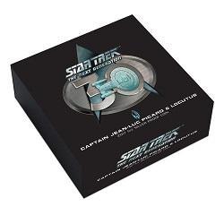 Выпущена монета к юбилею научно-фантастического сериала «Звездный путь: Следующее поколение»