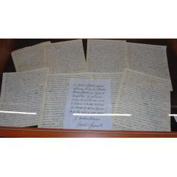 В Украину потомки Франка передали семейный архив