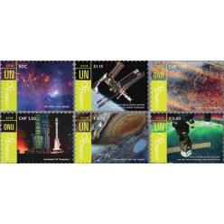 ООН представила марки, посвященные достижениям в космосе