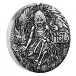 Появилась новая монета с изображением скандинавской богини Хель