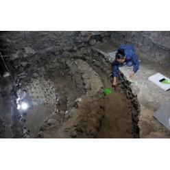 В Мексике обнаружена башня из человеческих черепов