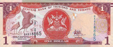Тринидад и Тобаго обновили купюру номиналом 1 доллар