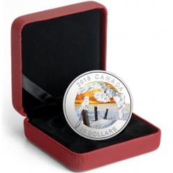 В Канаде представлена вторая монета серии «Геометрическая фауна»