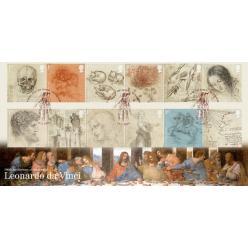 В Великобритании анонсирован выпуск марок в честь Леонардо да Винчи