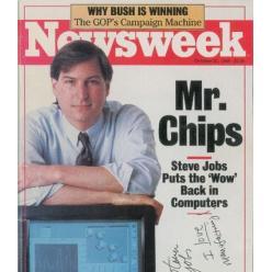 На аукционе представлен компьютер Apple-1 и автограф Стива Джобса
