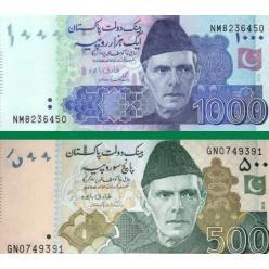 У Пакистані випущені в обіг банкноти зі зміненими даними