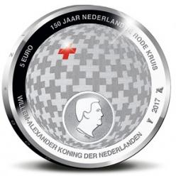 До 150-річчя Червоного Хреста в Нідерландах викарбувані монети