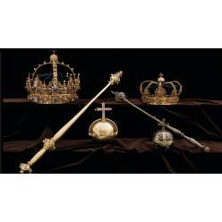  Из шведского собора украдены две золотые королевские короны
