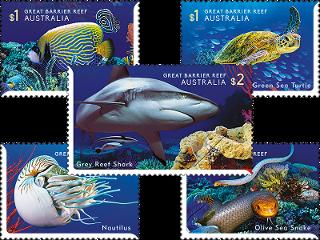 Австралия выпустила марки в честь «визитной карточки» страны