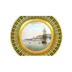 Во Франции на торги попала тарелка из сервиза Наполеона Бонапарта