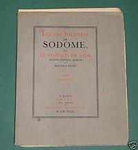 На аукцион в Париже выставлена рукопись «120 дней Содома» Маркиза де Сада