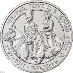 К 70-летию бракосочетания королевской семьи будет выпущена новая монета