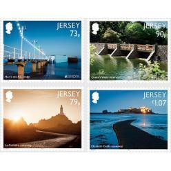 Новые марки острова Джерси продолжают серию «Europa 2018»