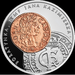 В Польше отчеканена монета, на которой изображены монеты времен Яна Казимира Васа